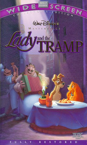 9780788812811: Lady and The Tramp [VHS]