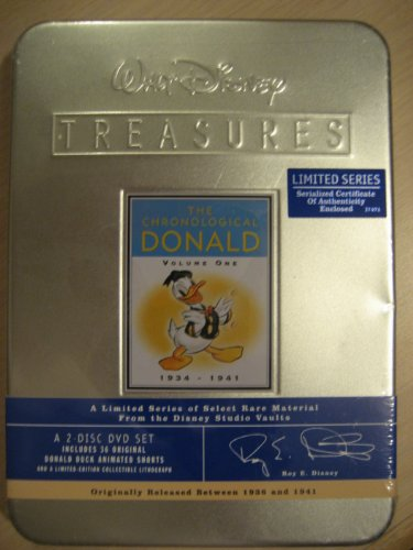 9780788850196: Walt Disney Treasures - The Chronological Donald, Volume One (1934 - 1941)