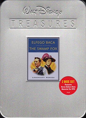 9780788860614: Walt Disney Treasures - Elfego Baca and The Swamp Fox - Legendary Heroes