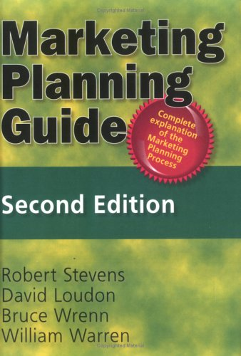 9780789001122: Marketing Planning Guide, Second Edition (Haworth Marketing Resources)