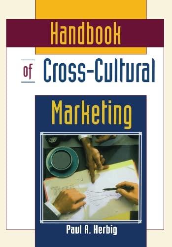 Handbook of Cross-Cultural Marketing: Erdener Kaynak