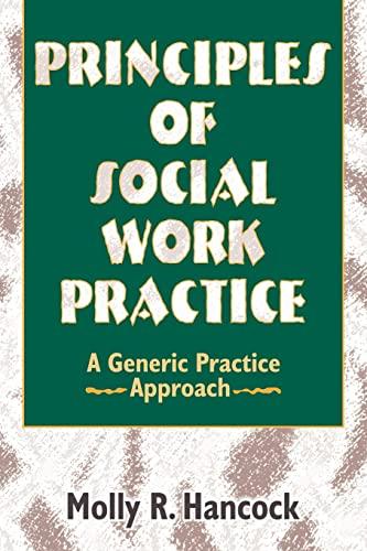9780789001887: Principles of Social Work Practice: A Generic Practice Approach (Haworth Social Work Practice)