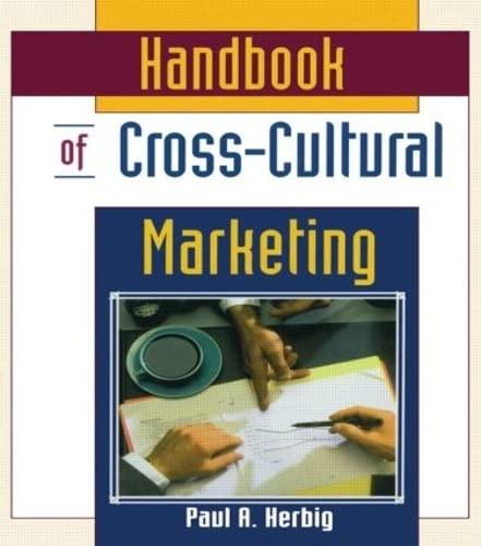 9780789002853: Handbook of Cross-Cultural Marketing