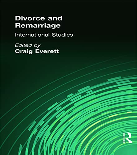 9780789003195: Divorce and Remarriage: International Studies (Journal of Divorce and Remarriage Series)