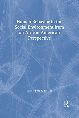 9780789003638: Human Behavior in the Social Environment from an African American Perspective