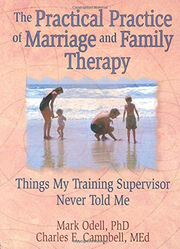 9780789004314: The Practical Practice of Marriage and Family Therapy: Things My Training Supervisor Never Told Me (Haworth Marriage and the Family,)