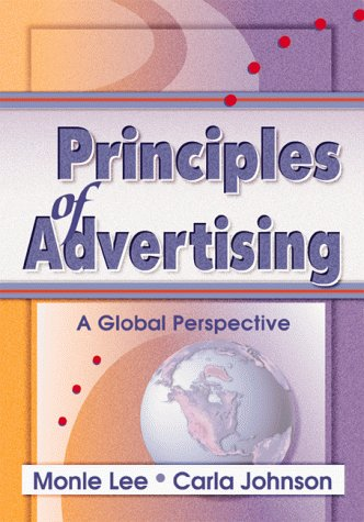 9780789006158: Principles of Advertising: A Global Perspective