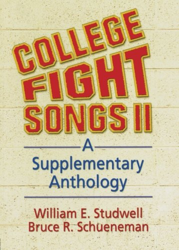 9780789009210: College Fight Songs II: A Supplementary Anthology