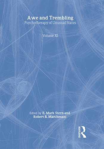 9780789009913: Awe and Trembling: Psychotherapy of Unusual States