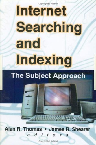 9780789010308: Internet Searching and Indexing: The Subject Approach