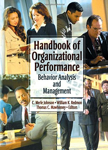 9780789010865: Handbook of Organizational Performance