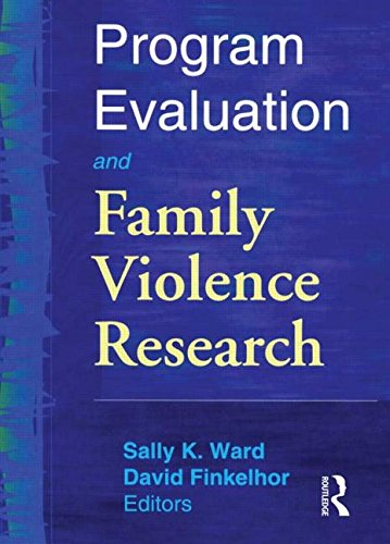 9780789011855: Program Evaluation and Family Violence Research