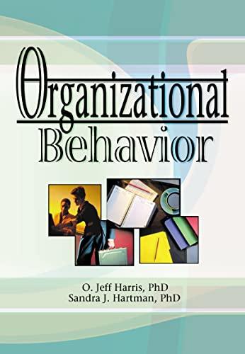 9780789012043: Organizational Behavior