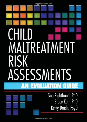 9780789012159: Child Maltreatment Risk Assessments: An Evaluation Guide