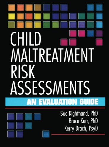 9780789012166: Child Maltreatment Risk Assessments: An Evaluation Guide