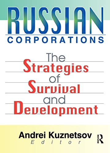 9780789014177: Russian Corporations: The Strategies of Survival and Development