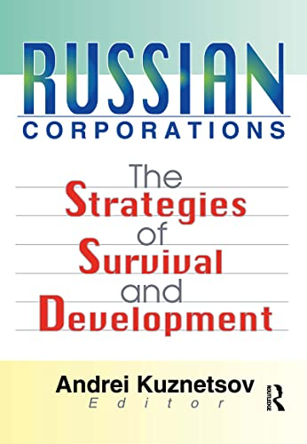 9780789014184: Russian Corporations: The Strategies of Survival and Development