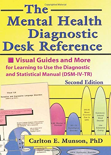9780789014658: The Mental Health Diagnostic Desk Reference: Visual Guides and More for Learning to Use the Diagnostic and Statistical Manual (DSM-IV-TR)