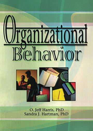 9780789015006: Organizational Behavior