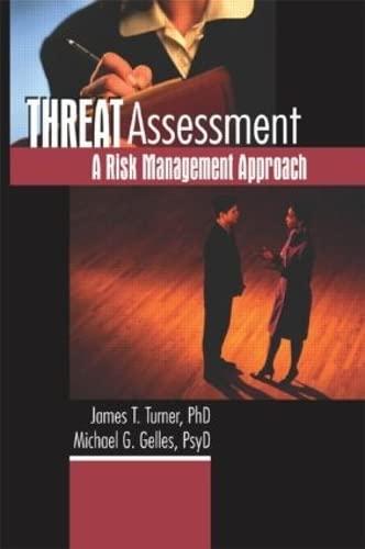 9780789016287: Threat Assessment: A Risk Management Approach