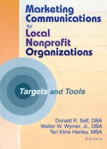 9780789017031: Marketing Communications for Local Nonprofit Organizations: Targets and Tools
