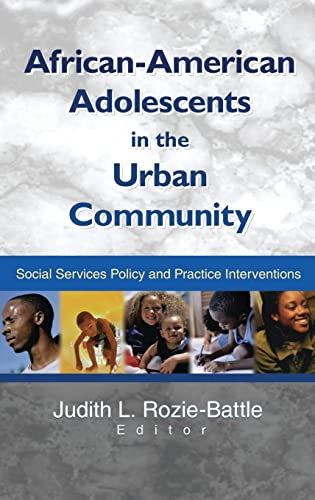 9780789017147: African-American Adolescents in the Urban Community: Social Services Policy and Practice Interventions