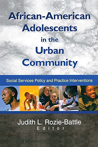 9780789017154: African-American Adolescents in the Urban Community: Social Services Policy and Practice Interventions