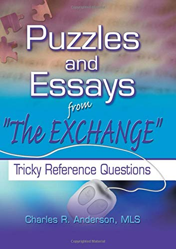 9780789017611: Puzzles and Essays from