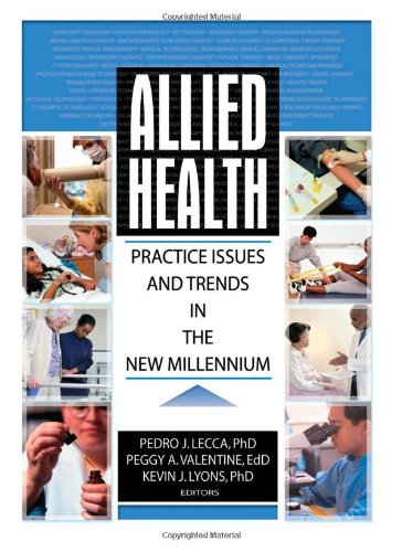 9780789018465: Allied Health: Practice Issues and Trends into the New Millennium