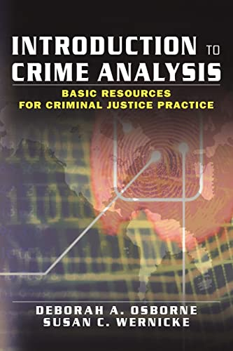9780789018687: Introduction to Crime Analysis: Basic Resources for Criminal Justice Practice