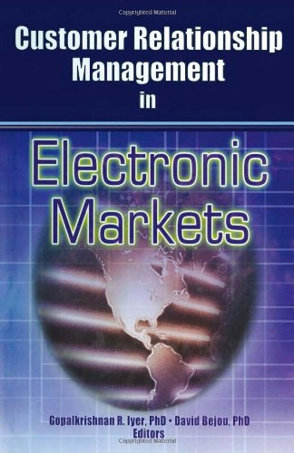 9780789019448: Customer Relationship Management in Electronic Markets