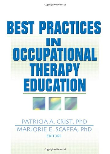 9780789021755: Best Practices in Occupational Therapy Education