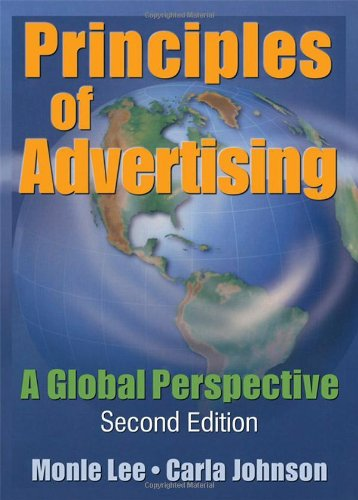 9780789022998: Principles of Advertising: A Global Perspective, Second Edition
