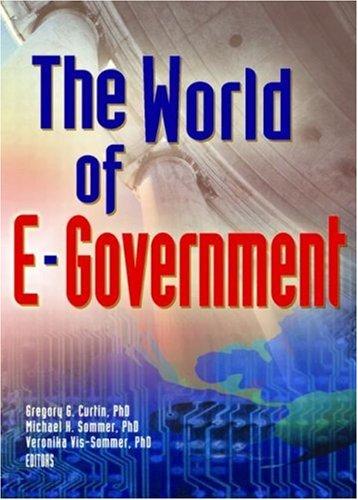 9780789023056: World Of E-Government, The