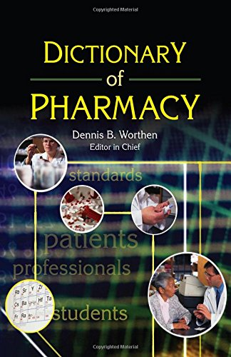 9780789023285: Dictionary of Pharmacy (Pharmaceutical Heritage)