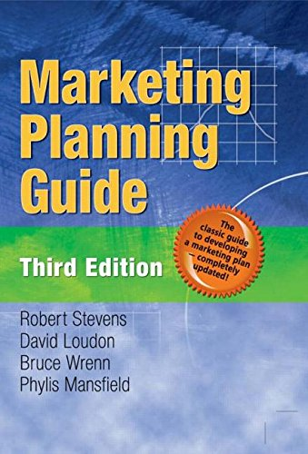 9780789023384: Marketing Planning Guide