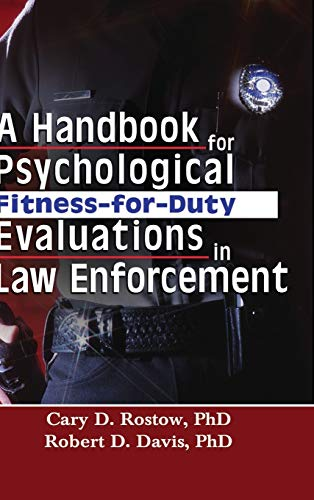 9780789023964: A Handbook for Psychological Fitness-for-Duty Evaluations in Law Enforcement
