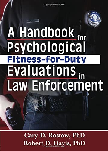 9780789023971: A Handbook for Psychological Fitness-for-Duty Evaluations in Law Enforcement