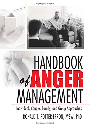9780789024541: Handbook of Anger Management: Individual, Couple, Family, and Group Approaches