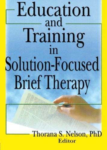 9780789029287: Education and Training in Solution-Focused Brief Therapy