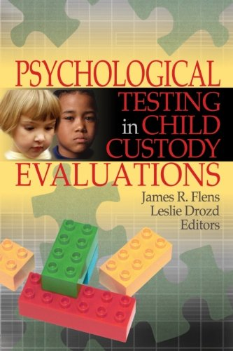 9780789029720: Psychological Testing in Child Custody Evaluations