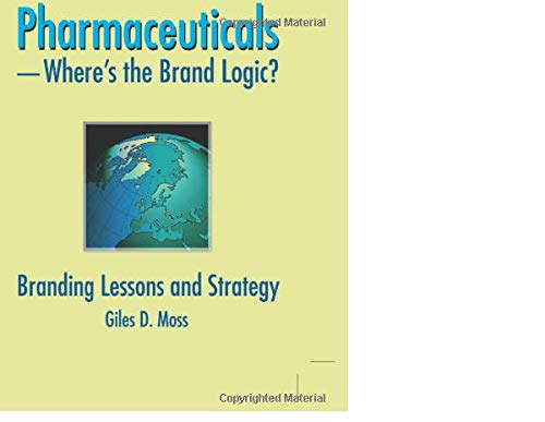 9780789032591: Pharmaceuticals-where's the Brand Logic?: Branding Lessons and Strategy