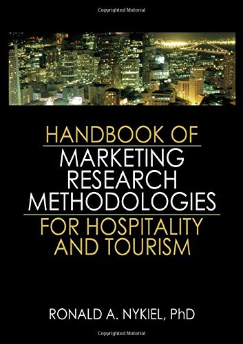 9780789034267: Handbook of Marketing Research Methodologies for Hospitality and Tourism