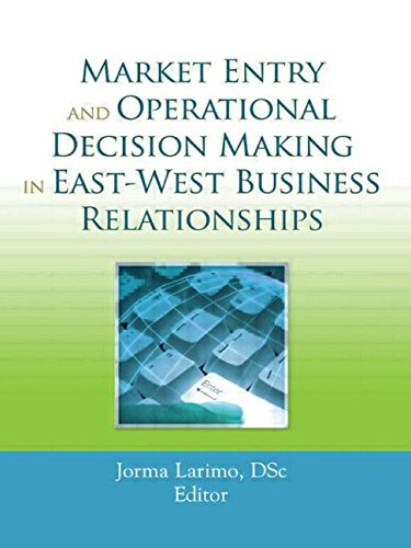 9780789035448: Market Entry and Operational Decision Making in East-West Business Relationships