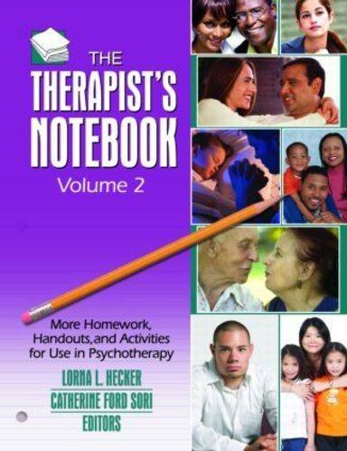 9780789037138: Therapist's Notebook: Homework, Handouts, and Activities for Use in Psychotherapy (2 volumes)