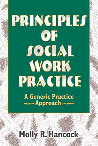 9780789060242: Principles of Social Work Practice: A Generic Practice Approach (Haworth Social Work Practice)