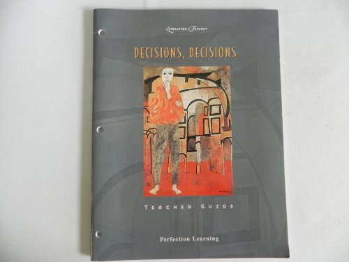 9780789152176: Literature and Thought: Decisions, Decisions (Teacher's Guide)