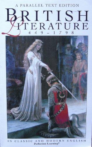 9780789154712: British Literature: 449 - 1798