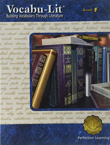 9780789156471: Vocabu-lit Book F: Building Vocabulary Through Literature