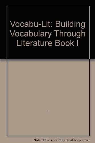 Vocabulit Level I/9 Se Building Vocabulary Through: Barrett Kendall Publishing,